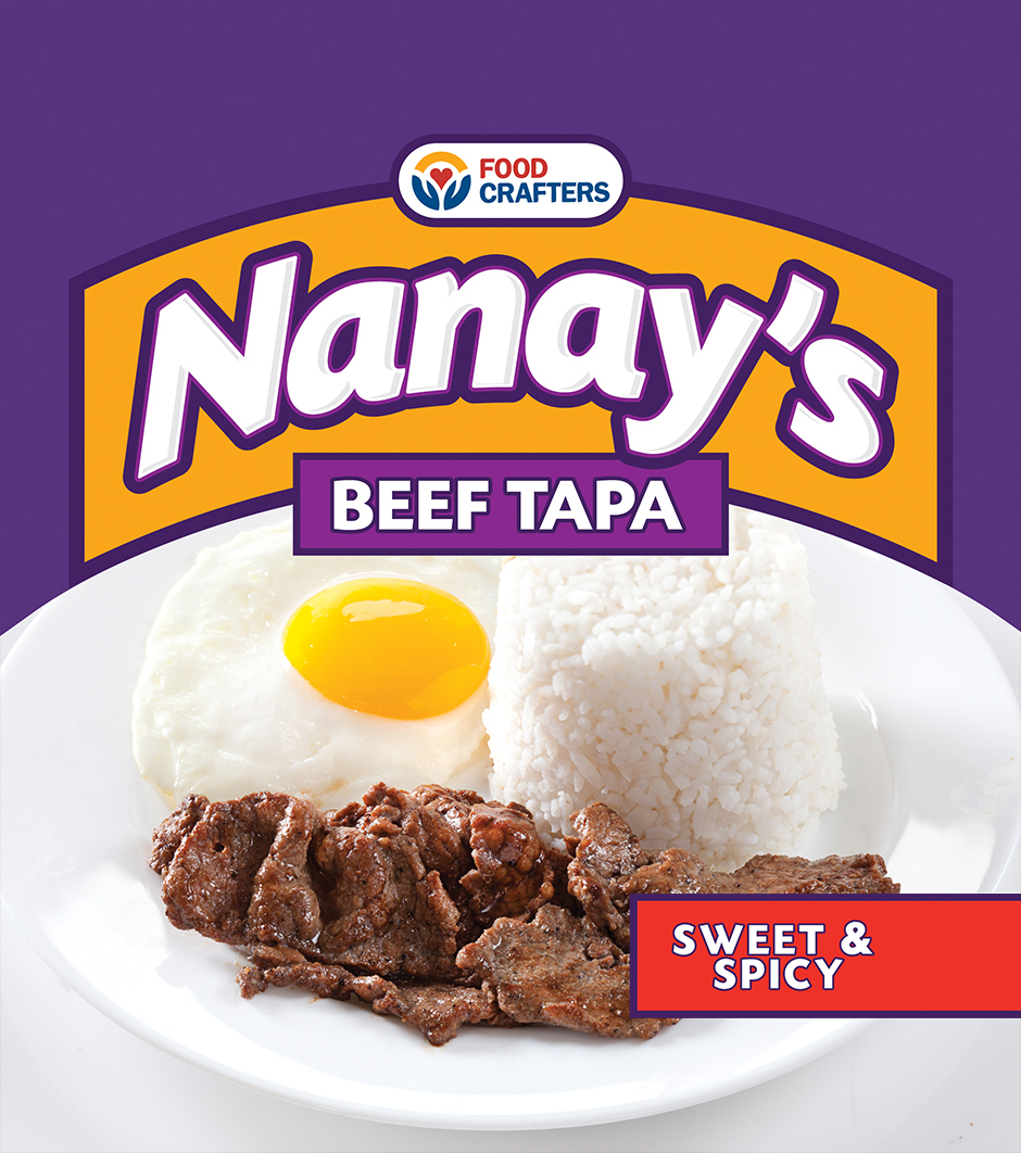 Nanay's Beef Tapa - Sweet & Spicy